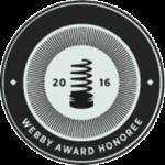 2016 Webby Award Honoree