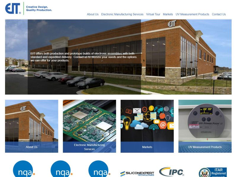 EIT home page
