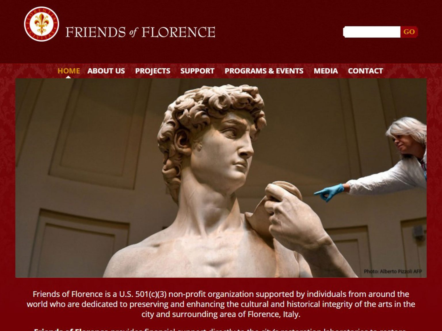 Friends of Florence - home